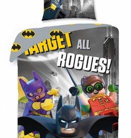 Lego Batman Movie - Dekbedovertrek - Eenpersoons - 140 x 200 xm - Multi