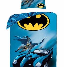 Batman Batman Dekbedovertrek Batmobile 140x200cm + Kussensloop 70X90cm