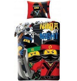 Lego Lego  Ninjago Dekbedovertrek Ninja by Night 140x200cm + Kussensloop70x90cm