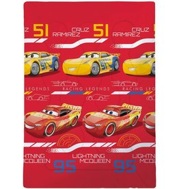 Disne3 Cars Legends - Beddensprei - Eenpersoons - 140 x 200 cm - Multi