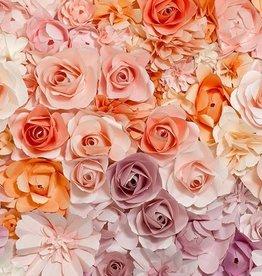 Fotobehang - Flowers - 366 x 254 cm - Multi