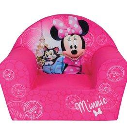 Disne3 Minnie Mouse Paris - Fauteuil - 42 x 52 x 33 cm - Roze