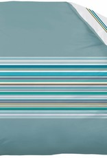 "Matt & Rose Matt & Rose Dekbedovertrek Esprit Graphique Blue ""orage"" 240x220cm  - Exclusief Kussenslopen"