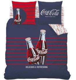 Coca Cola Coca Cola  Dekbedovertrek  Lines 240x220cm + 2 kussenslopen 63x63cm