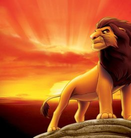 The Lion King The Lion King  fotobehang 2 delig 254x184cm - 3205 P4A