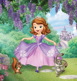 Sofia the First Sofia the First  fotobehang 2 delig 254x184cm - 10425 P4A