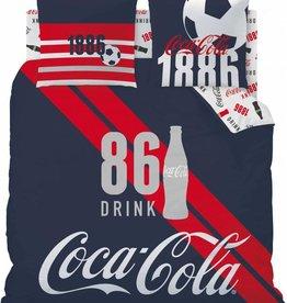 Coca Cola Coca Cola Dekbedovertrek Sport 240x220cm + 2 kussenslopen 63x63cm