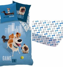 The Secret Life of Pets Set dekbed + hoeslaken Max 140x200 + 63x63cm 100% katoen