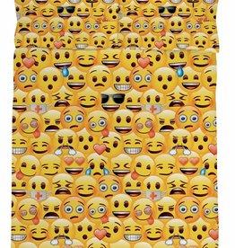 Emoji Emoji Dekbedovertrek Iconic 200 x 200 cm 50% katoen / 50% polyester
