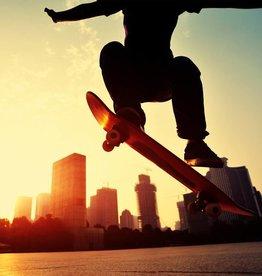 Fotobehang Skater 232cm x 315cm