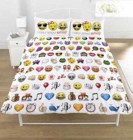 Emoji Emoji dekbedovertrek 200x200cm + 2 kussenslopen 50x75cm