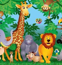 Fotobehang In the Jungle 366x254 cm