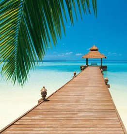 Fotobehang Paradise Beach 366x254 cm