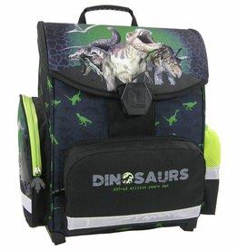 Animal Pictures Dinosaurus - Ergonomische Schooltas - 35.5 cm - Groen