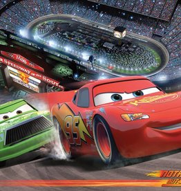 Disne3 Cars Disney Cars  fotobehang 4 delig 368x254cm 4-008 P8