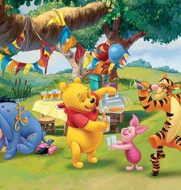 Winnie The Pooh - Fotobehang - 4 delig - 368 x 254c m - Multi