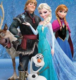 Disney Frozen Fotobehang Disney Frozen 4 delig 368x254cm