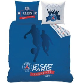 Paris Saint Germain Paris Saint Germain  Dekbedovertrek Foot 240x220cm - 63x63cm