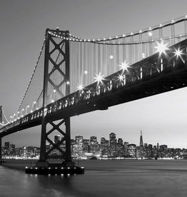 Fotobehang Fotobehang San Francisco Skyline 366x254 cm