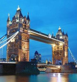 Fotobehang Fotobehang Tower Bridge 366x254 cm