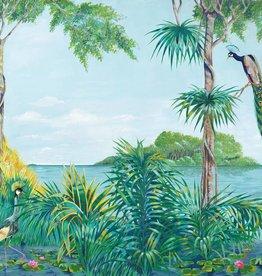 Fotobehang Fotobehang Blue Lagoon 366 x 254cm
