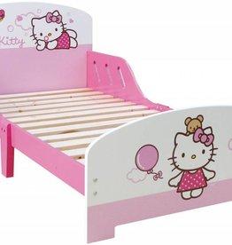 Hello Kitt3 - Peuter Bed - 70 x 140 cm - Roze - Inclusief lattenbodem