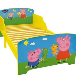 Peppa Pig - Peuter Bed - 70 x 140 cm - Multi - Inclusief lattenbodem