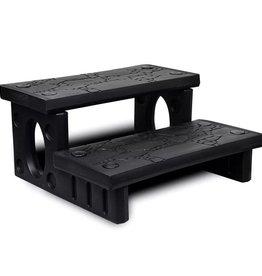 VidaXL Spa trap (zwart)