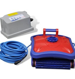 VidaXL Zwembad robot stofzuiger (Rood/Blauw)