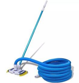 VidaXL Vacuüm zwembadreiniger met telescopische slang en paal