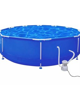 VidaXL Rond zwembad 360 x 76 cm met filterpomp 1165 l / h