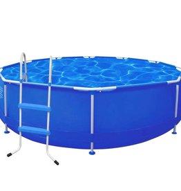 VidaXL Rond zwembad 360 x 76 cm stalen frame met trap