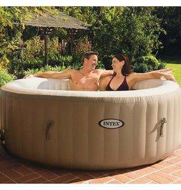 VidaXL Intex PureSpa Opblaasbare spa met bubbelmassage 196x71 cm 28404NL