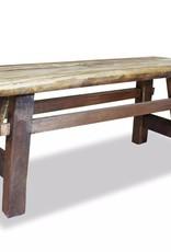 VidaXL Bank 100x28x43 cm massief gerecycled hout
