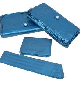 VidaXL Waterbed matras met voering en verdeler dubbel 200x200cm F3