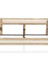 VidaXL Bedframe massief mangohout 180x200 cm