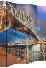 VidaXL Kamerverdeler inklapbaar Sydney Harbour Bridge 228x180 cm