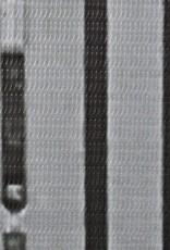 VidaXL Kamerverdeler New York bij daglicht 200x180 cm zwart en wit