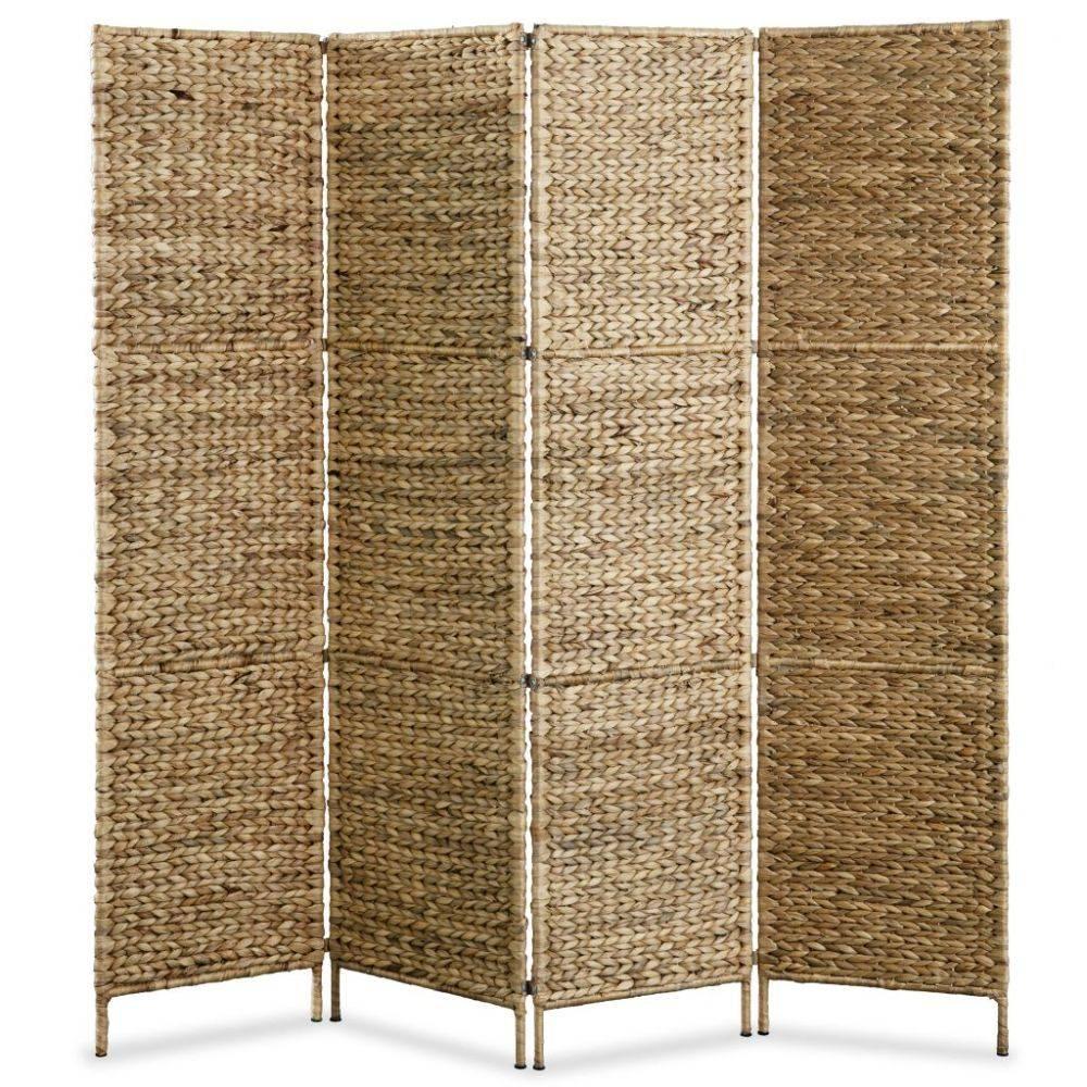 VidaXL Scheidingswand met 4 panelen 160x160 cm waterhyacint