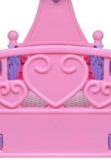 VidaXL Poppenbed voor kinderen kinderkamer roze + paars