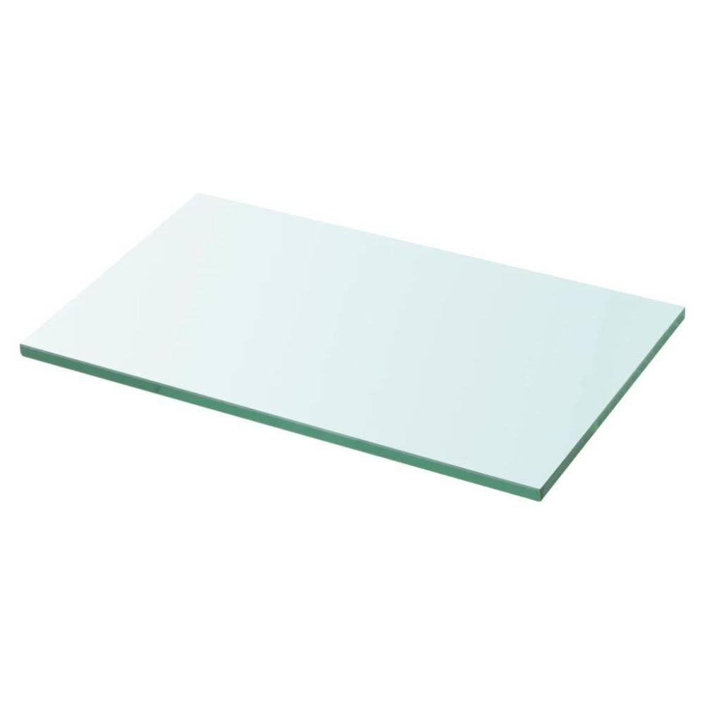 VidaXL Wandschap transparant 30x15 cm glas