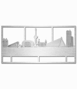 Rotterdam rechthoek aluminium - groot