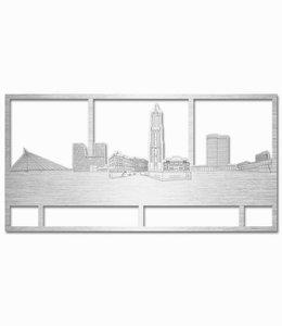 Utrecht rechthoek aluminium - groot