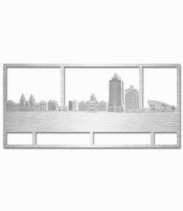 Amsterdam rechthoek aluminium - groot