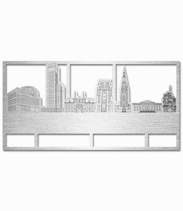 Skyline Leeuwarden rechthoek aluminium