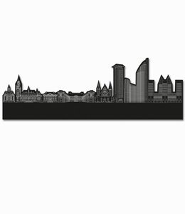 Skyline Den Haag vrijstaand black wood - groot