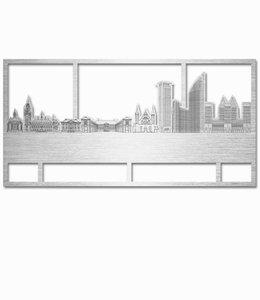 Den Haag rechthoek aluminium - groot