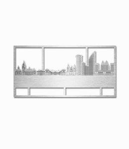 Den Haag rechthoek aluminium - klein