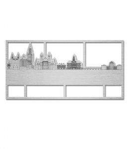 Skyline Maastricht aluminium groot kader