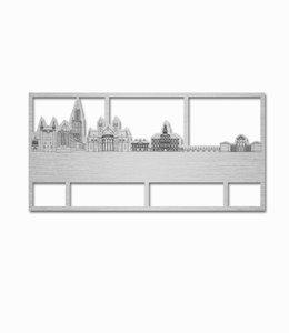 Skyline Maastricht aluminium klein kader
